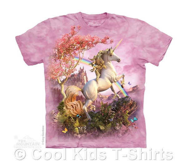 Awesome Unicorn Kids Tie Dye T-Shirt