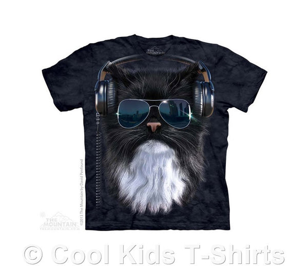 Cool Cat Kids Tie Dye T-Shirt