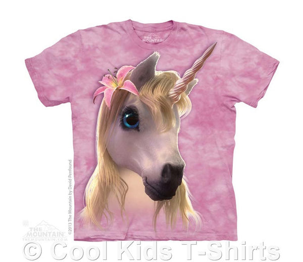Cutie Pie Unicorn Kids Tie Dye T-Shirt