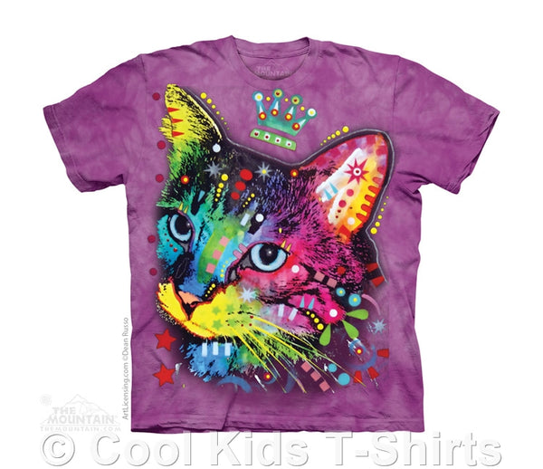 Crown Kitten Childrens T-Shirt by Russo