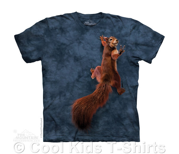 Peace Squirrel Childrens T-Shirt