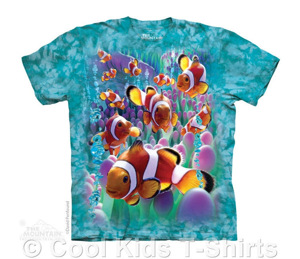 Clownfish Kids Tie Dye T-Shirt