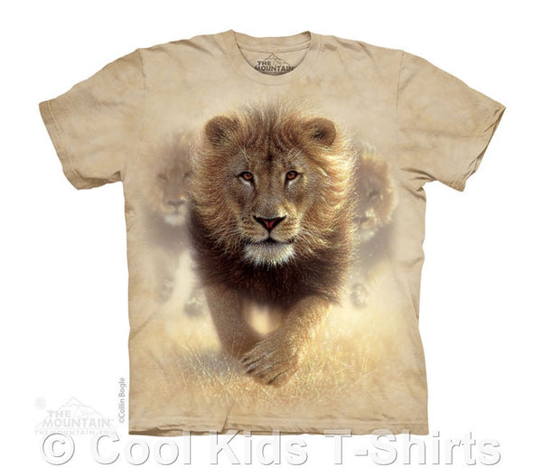 Eat My Dust Lion Kids Tie Dye T-Shirt
