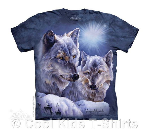 Equinox Wolves Kids Tie Dye T-Shirt