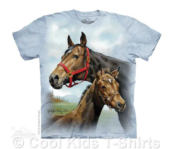 Hope for the Roses Kids Tie Dye Horse T-Shirt