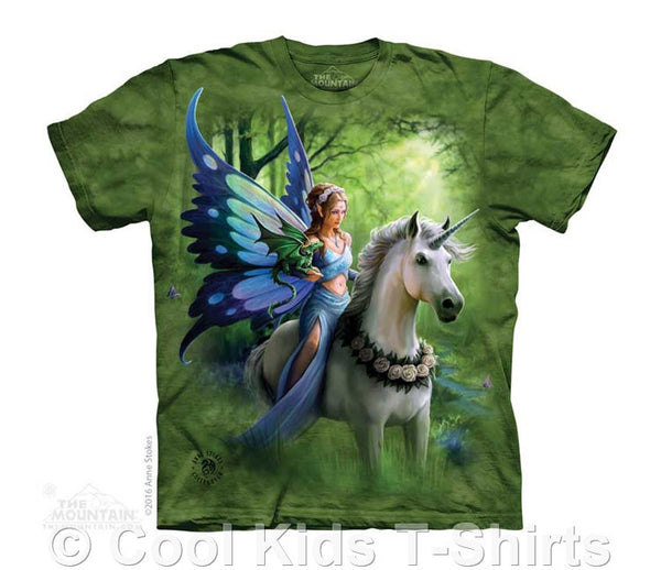 Realm of Enchantment Kids Tie Dye Fairy T-Shirt