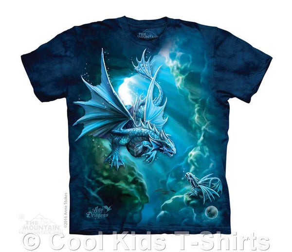 Sea Dragon Kids Tie Dye T-Shirt