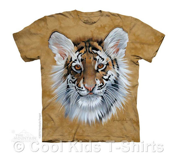 Tiger Cub Kids Tie Dye T-Shirt
