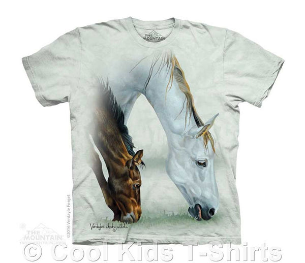 Fillie & Mare Kids Tie Dye Horse T-Shirt
