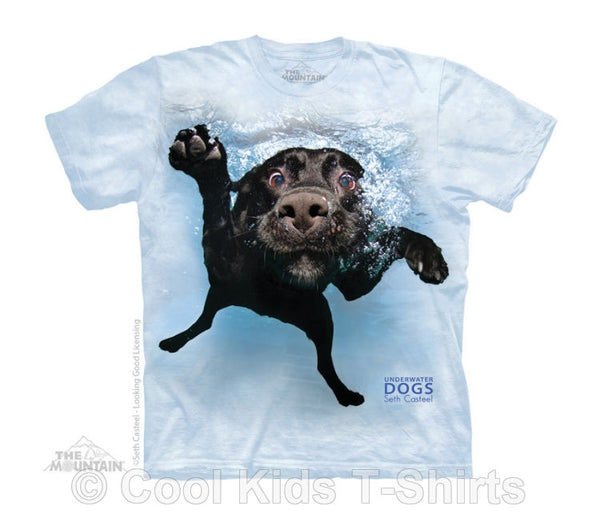 Duchess Underwater Dog Kids Tie Dye T-Shirt