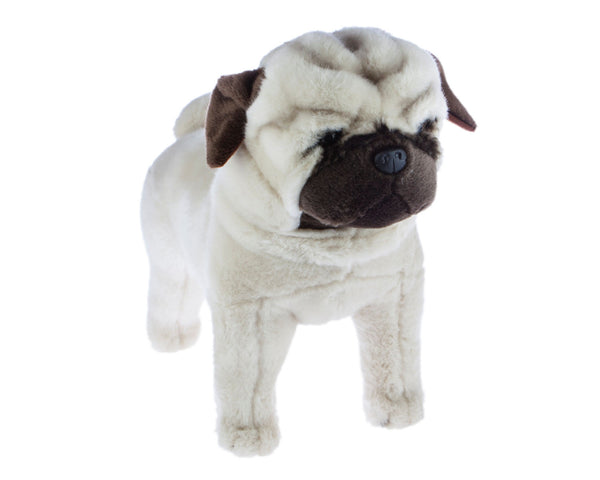 Pugley - Standing Pug Dog Stuffed Toy
