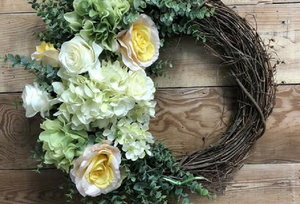 Spring Wreath Ideas from Bonnie Harms Designs