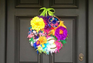 Celebrate Fiesta '18 with a Wreath From Bonnie Harms