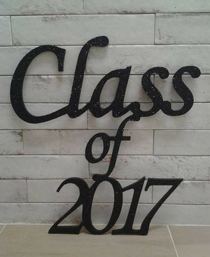 Class of Wooden Sign