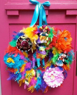 Fabulous Fiesta! Wreath - Bonnie Harms Designs