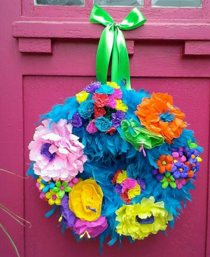 Casa Bonita Wreath - Bonnie Harms Designs