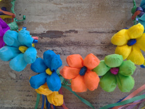 Fiesta Paper Flower Crown