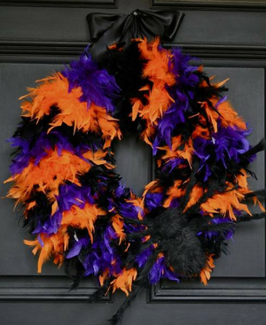 Hocus Pocus Wreath - Bonnie Harms Designs