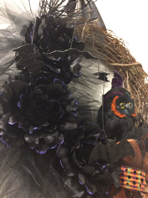 Night Owl Wreath - Bonnie Harms Designs