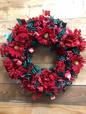 Christmastide Celebration Wreath - Bonnie Harms Designs