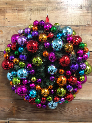 Christmas Ornament Wreath - Bonnie Harms Designs