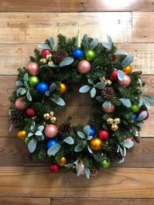 Be Merry Wreath - Bonnie Harms Designs