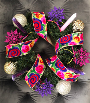 Advent Wreath - Bonnie Harms Designs