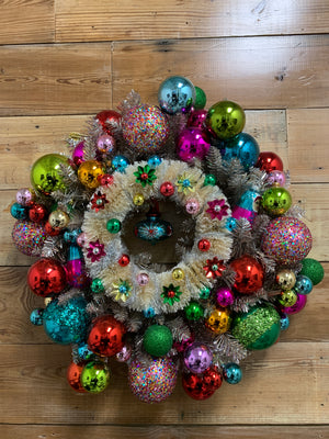 Double the Joy Christmas Wreath - Bonnie Harms Designs