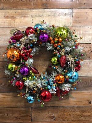 Magical Christmas Wreath - Bonnie Harms Designs