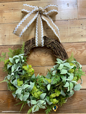 Spring Fever Wreath - Bonnie Harms Designs