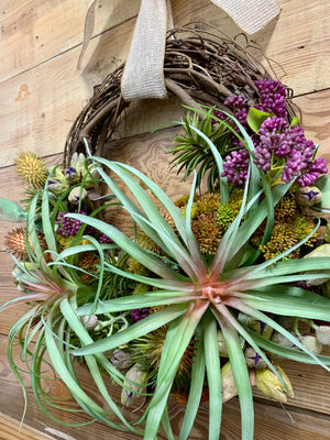 Yucca Succulent Wreath - Bonnie Harms Designs