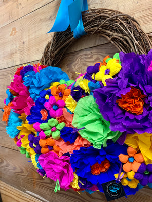 Amazing Grace Fiesta Wreath - Bonnie Harms Designs