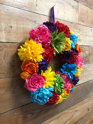 La Bonita Wreath - Bonnie Harms Designs