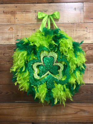 St. Patty's Day Wreath - Bonnie Harms Designs