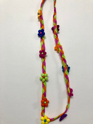 Fiesta Paper Flower Necklaces - Bonnie Harms Designs