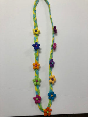 Fiesta Paper Flower Necklaces