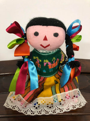 Fiesta Mexican Dolls - Bonnie Harms Designs