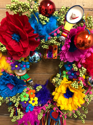 South Texas Fiesta Wreath
