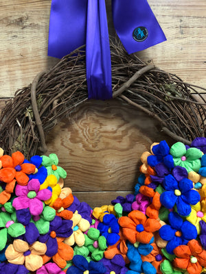 Ressurection Wreath - Bonnie Harms Designs