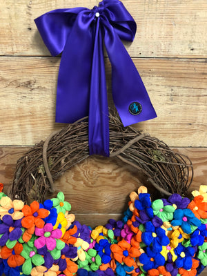 Las Terrecitas Wreath - Bonnie Harms Designs