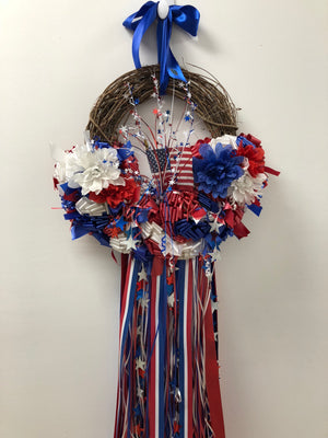 Lovely USA Wreath - Bonnie Harms Designs