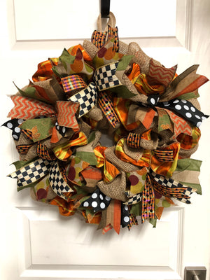 FALLing for Ribbons - Bonnie Harms Designs