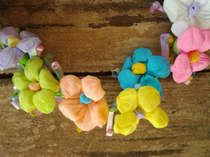 Fiesta Paper Flower Crown-Bright Pastel - Bonnie Harms Designs