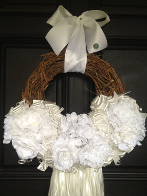 Wedding Wreath - Bonnie Harms Designs