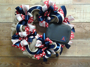 Team Pride Wreath-University of Arizona - Bonnie Harms Designs