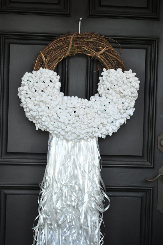 "Paper Flower ""Wedding Terracita""Wreath"