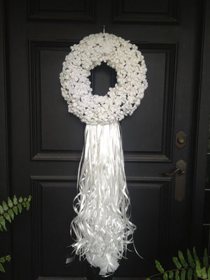 Wedding Teresita Paper Flower Wreath - Bonnie Harms Designs
