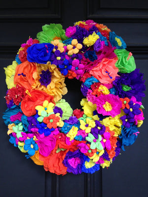 Feliz Dia Wreath - Bonnie Harms Designs