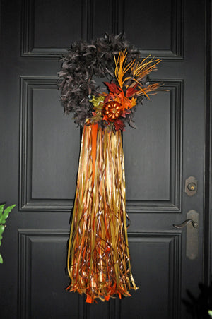 Fall and Fabulous Wreath - Bonnie Harms Designs