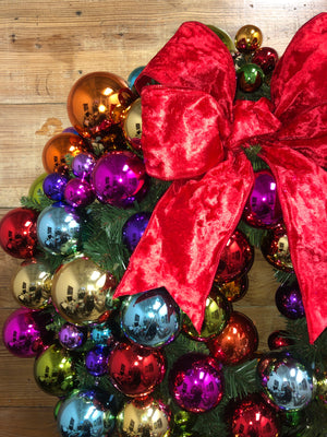 Deck the Halls Wreath - Bonnie Harms Designs